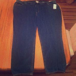 Women's pull on jeans